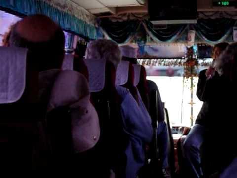 Novosibirsk, Russia Tour Bus