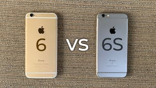 iPhone 6 vs iPнone 6S - Full Comparison