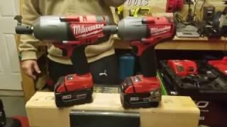 Milwaukee (2861) Mid Torque vs. Milwaukee (2763) High Torque Impact Wrench