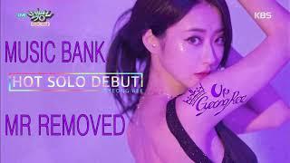 GyeongRee (경리) - Blue Moon (어젯밤 ) MR REMOVED (Music Bank 2018.07.06)