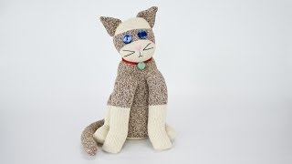 How to Sew A Sock Cat