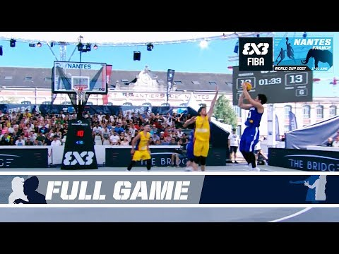 Philippines shock Romania - Full Game - FIBA 3x3 World Cup 2017