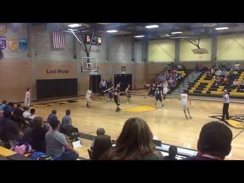 St. Mary's School Medford Oregon VS Lost River High School Oregon (1/10/2014) PART 9
