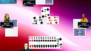 Hoyle Card Games 2008 - Spades Playthrough