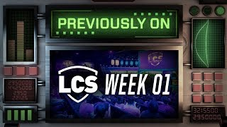 Previously On LCS - Week 1