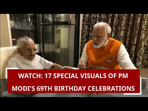 Watch: 17 special visuals of PM Modi's 69th birthday celebrations