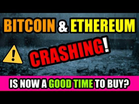 ⚠️ CRYPTOCURRENCY CRASHING IN FEBRUARY 2021!! IS NOW A GOOD TIME TO BUY BITCOIN & ALTCOINS?
