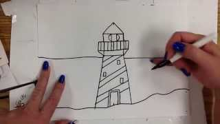 Kids Can Draw: Lighthouse