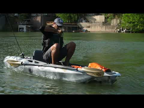 3 Waters Big Fish 105 Overview Viskajak Fishing Kayak