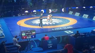 Греко Римская борьба Чемпионат Мира 2021 Финал 55кг Алимардон Абдуллаев Амирреза Дехбозорги
