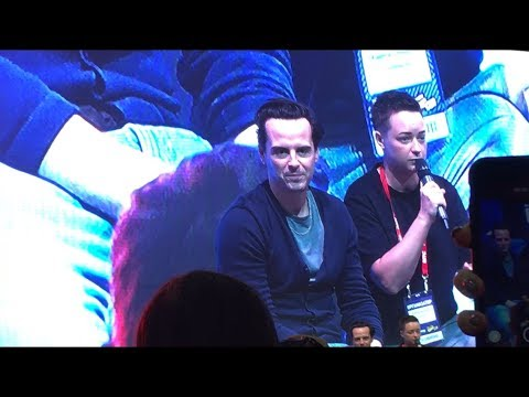 Comic Con Russia 2019 | Andrew Scott | Эндрю Скотт | Часть 5
