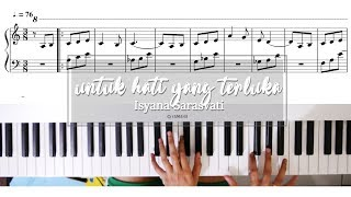 Isyana Sarasvati - untuk hati yang terluka [PIANO / NOT]