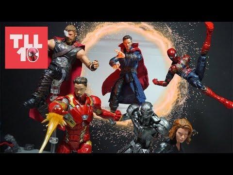 Infinity War Part 2: The HUNT - Marvel Stop-Motion Film