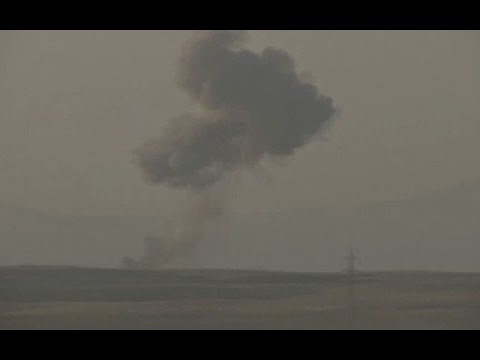 Iraq: Footage shows US airstrikes against IS militants