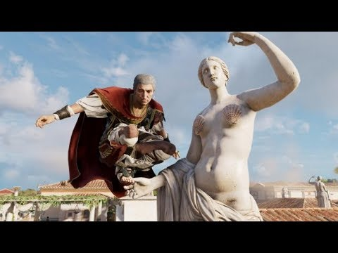 Historical Statues Censored In Assassin's Creed Origins' Tour Mode