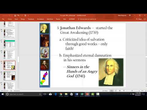 18th century colonies/Colonial wars video