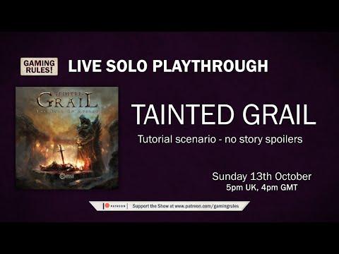 Tainted Grail Tutorial Playthrough thumbnail