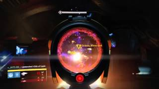 Destiny- Bungie glitch Death ( With blessing of light )