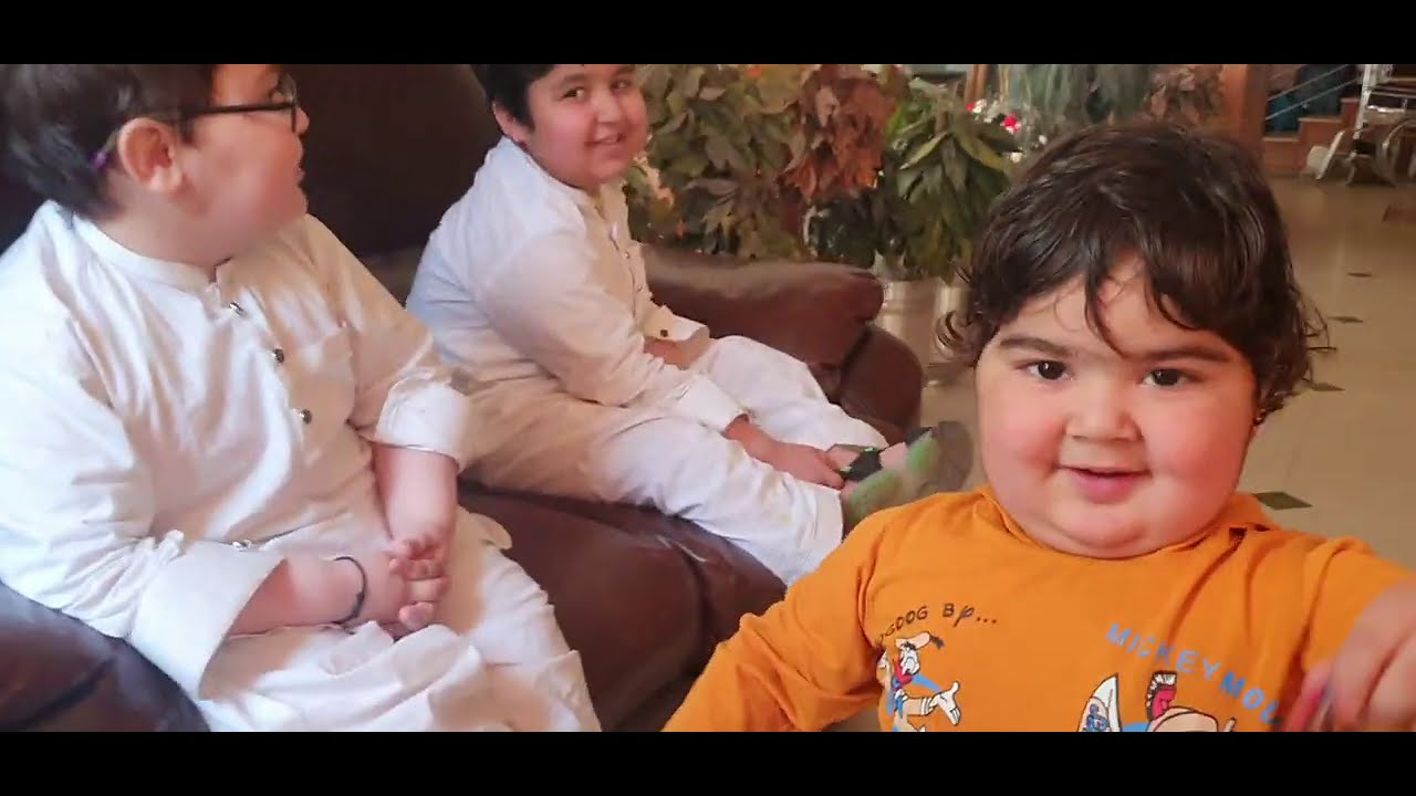 Ahmad shah with his Brother's Cutest Video 2021