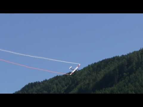 Inverted low pass with Pilatus B4 in Vipiteno