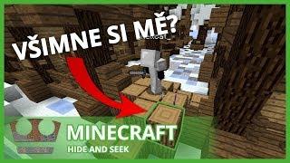 Jirka a GEJMR - Minecraft - Všimne si mě? Hide and Seek