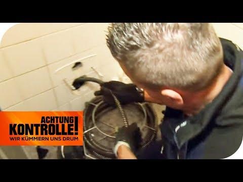 'Scheiße!' Rohrreiniger haben extreme Verstopfung! Hilft die Kamera? | Achtung Kontrolle