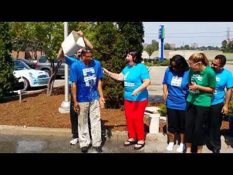 Holiday Inn Express North York - ALS Ice Bucket Challenge