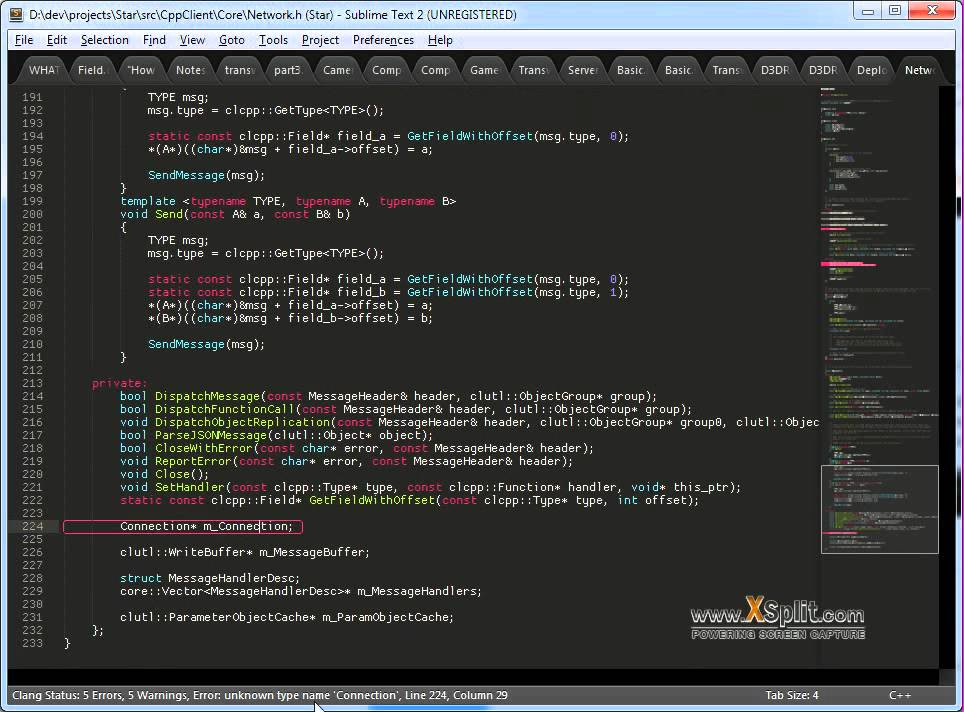 Clang compiles c as you edit in sublime text 2 youtube Compilation c