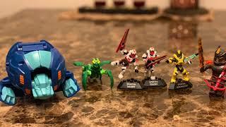 Unboxing jouet. Bakugan, Roblox, Halo Mega Construct