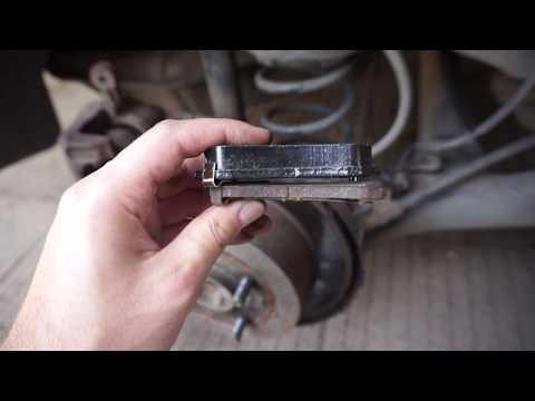 Замена задних тормозных колодок Hyundai Accent (verna)