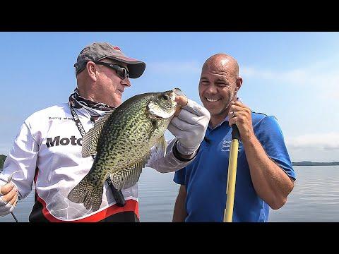 FOX Sports Outdoors SouthWEST #24 Toledo Bend Louisiana Crappie Fishing