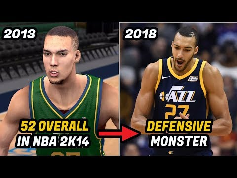 How Rudy Gobert Went From a 52 Overall in NBA 2K to NBA's Best Shot Blocker