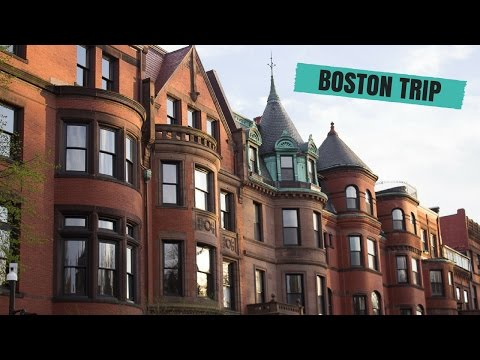 Boston Vlog (Harvard, Boston Public Garden, Etc. )