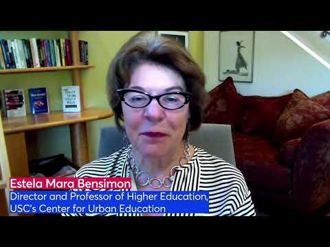 Estela Mara Bensimon, Director and Professor of Higher Education ...