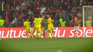 OGC Nice - FC Nantes : le but nantais et le pénalty arrêté