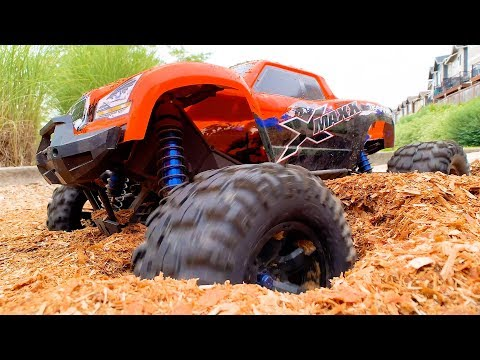 X MAXX REMOTE CONTROL MONSTER TRUCK from TRAXXAS FUN PLAYTIME for Elias