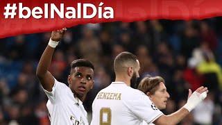 #beINalDía: Triplete de Rodrygo Goes en triunfo de Real Madrid