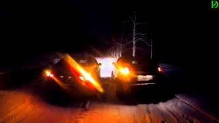 Lada XRAY  c Lada Vesta - ночной обзор (4k, UHD)