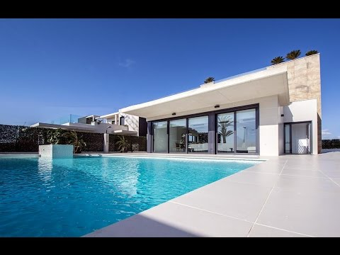 Designer villa with private swimming pool and sea views in Campoamor