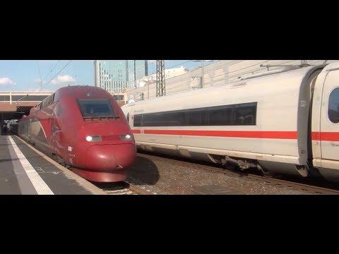 Ice Ic Züge In Düsseldorf Hbf 27 08 13 Teil 2 Youtube