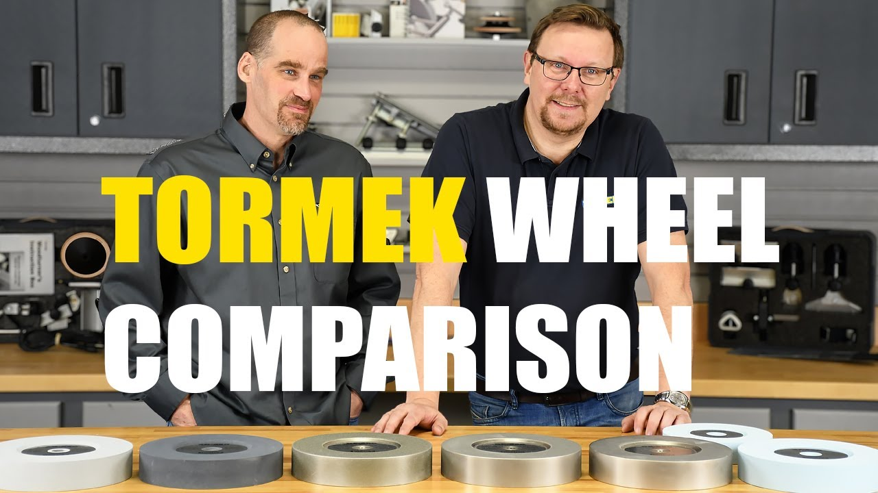 Tormek Wheel Comparison