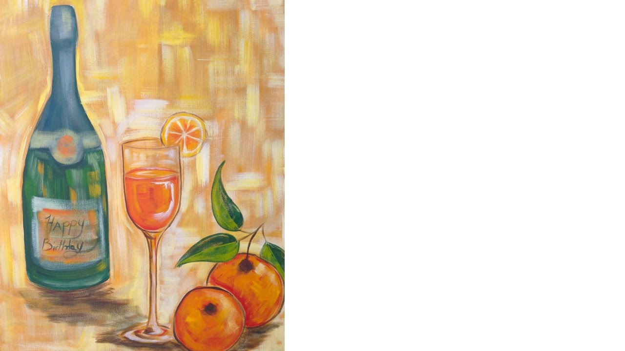 Easy acrylic painting ideas wine and glass class the art sherpa easy acrylic painting ideas wine and glass class the art sherpa youtube solutioingenieria Images