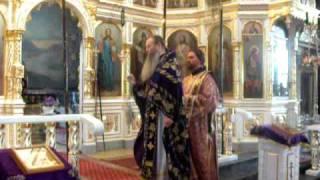 Jabłeczna Monaster św.Onufrego.  Wyniesienie Płaszczenicy