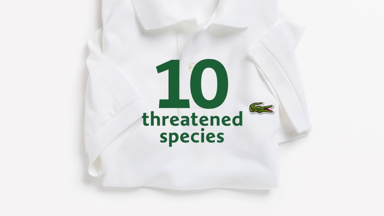 989fb2e9033d Lacoste x Save Our Species - YouTube