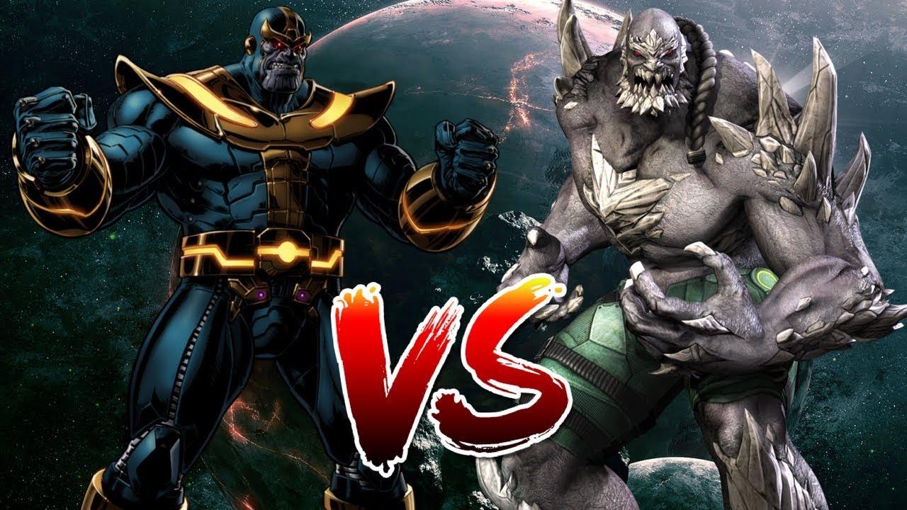 Thanos Vs Doomsday Who Wins Youtube