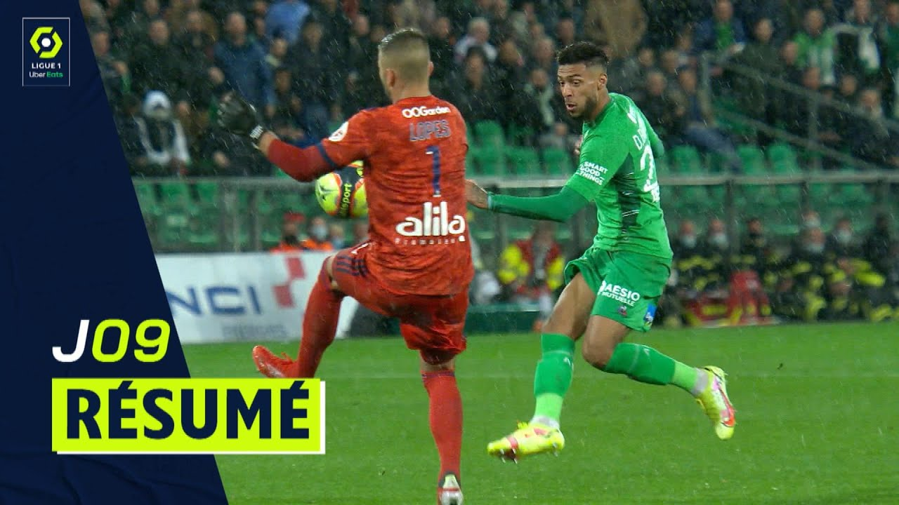 Download Résumé 9ème journée - Ligue 1 Uber Eats / 2021-2022