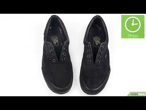 como lavar zapatillas vans negras