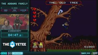 The Addams Family by garbanzcurity in 28:10 AGDQ 2018