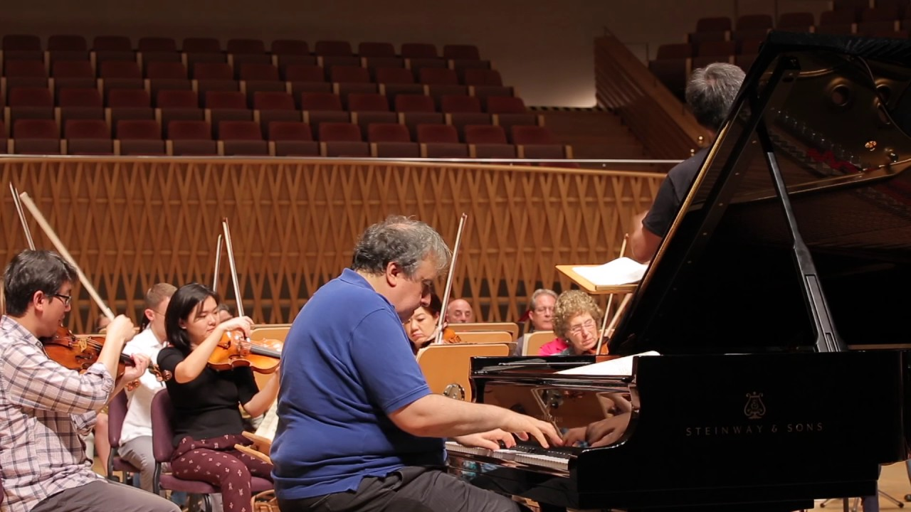 Bronfman and Brahms in Shanghai