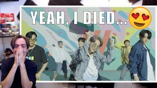 Gambar cover YEAH, I DIED... (BTS (방탄소년단) 'Dynamite' Official MV (Choreography ver.) Reaction/Review)